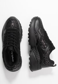 Simply Be - WIDE FIT TAYLOR CHUNKY SOLE TRAINERS - Joggesko - black - 3
