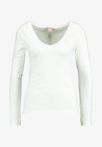 BASIC - Maglietta a manica lunga - white