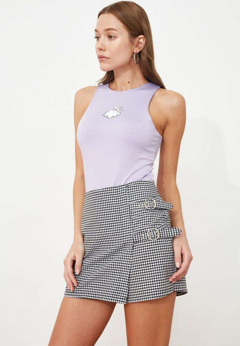 Trendyol - PARENT - Wrap skirt - black