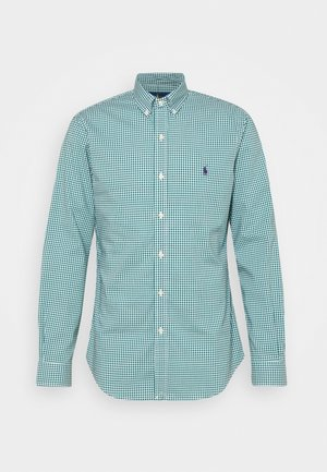 LONG SLEEVE SPORT - Camisa - evergreen/white