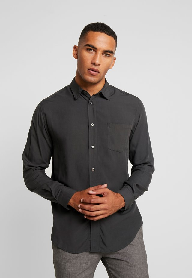 Shirt - smokey black