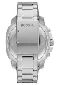 Fossil - MACHINE - Chronograph watch - silver - 1