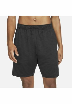 YOGA - Korte sportsbukser - off noir/black/(gray)