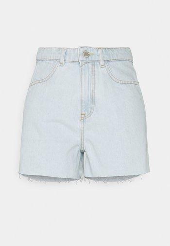 Denim shorts - multi/bleached blue