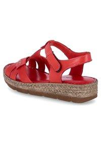 Andrea Conti - Walking sandals - rot - 2