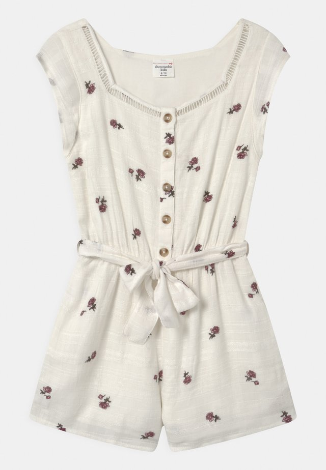BEST BACK RUFFLE ROMPER - Overall / Jumpsuit - white
