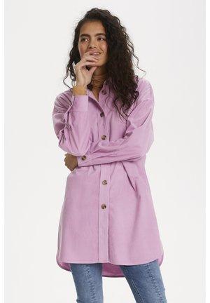 SLAKANE - Button-down blouse - smoky grape