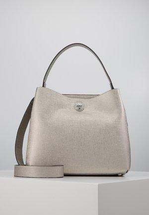EVITA - Handbag - silber