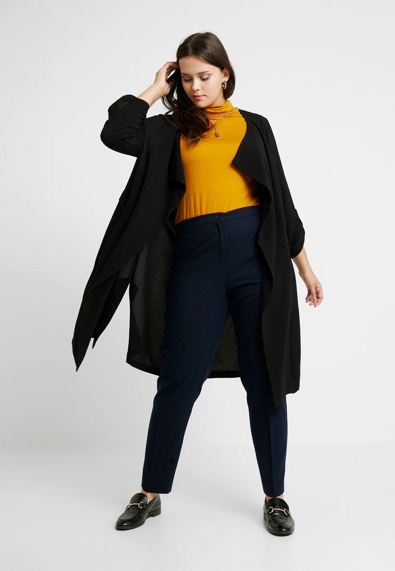 Evans - LONGLINE JACKET - Krátký kabát - black