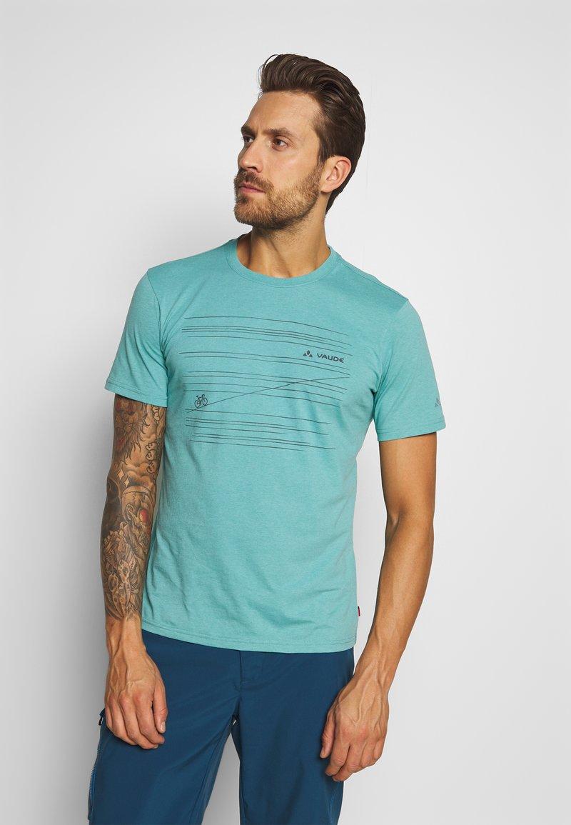 Vaude - ME CYCLIST  - T-Shirt print - lake