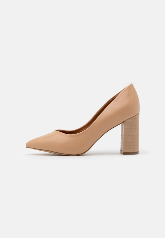 WIDE FIT WILDROSE - High heels - tan/beige