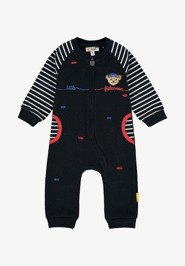 LITTLE FISHERMAN - Jumpsuit - steiff navy