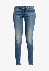 G-Star - MIDGE ZIP MID SKINNY - Jeans Skinny Fit - lt vintage aged destroy - 4