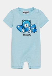 MOSCHINO - ROMPER WITH GIFT BOX - Jumpsuit - baby sky blue - 0