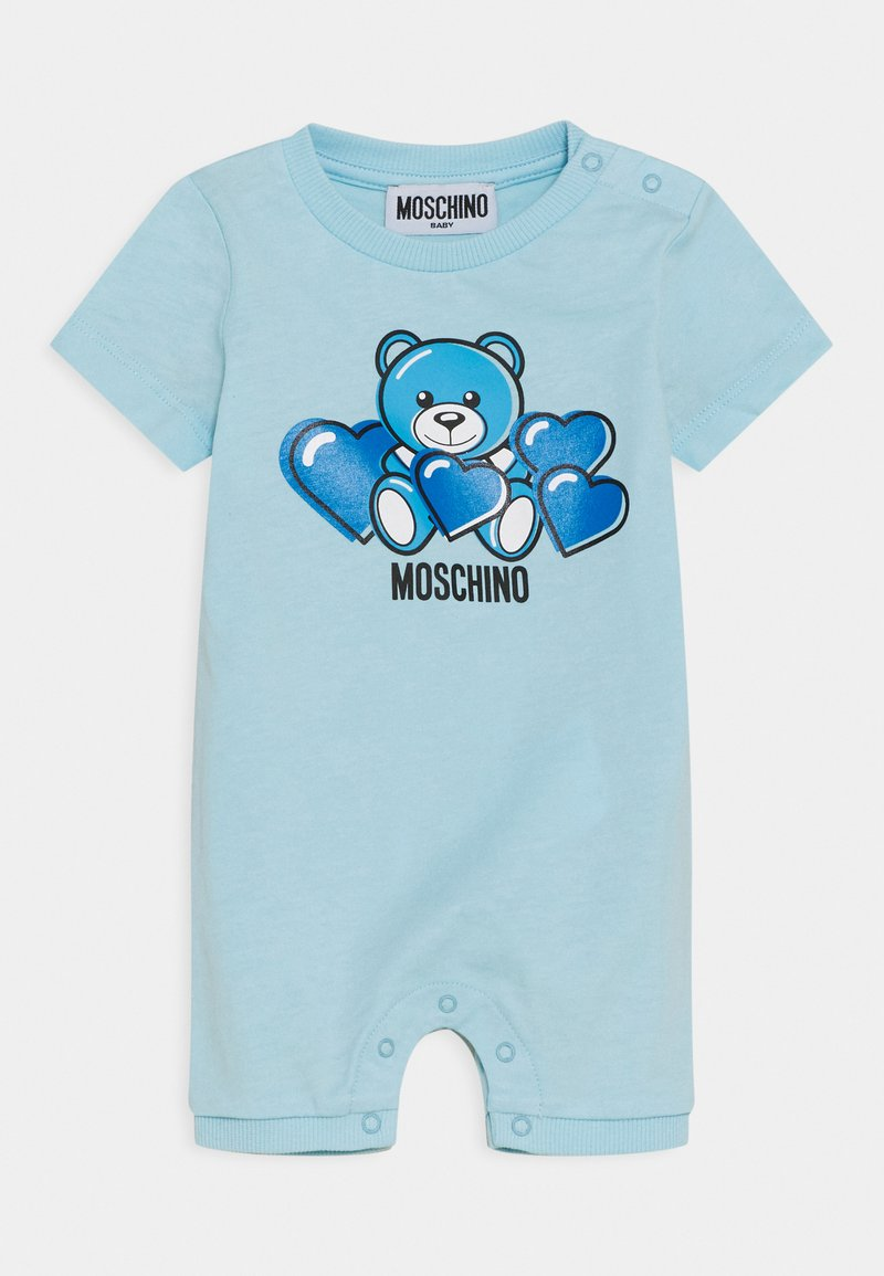 MOSCHINO - ROMPER WITH GIFT BOX - Jumpsuit - baby sky blue