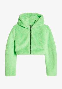 Bershka - MIT KAPUZE - Fleece jacket - green - 4