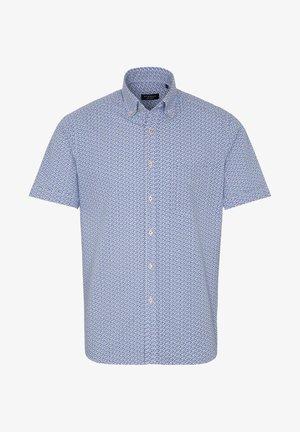REGULAR FIT - Shirt - hellblau/beige