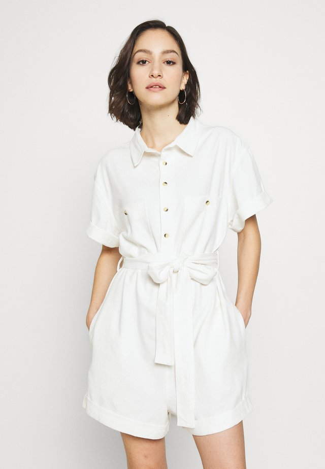 HORIZON PLAYSUIT - Jumpsuit - vintage white