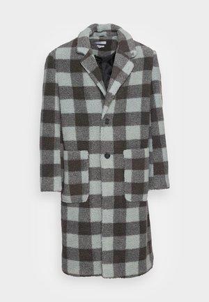 BORG OVERCOAT - Classic coat - grey