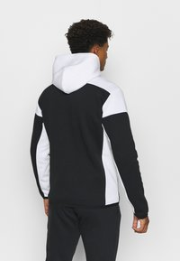 adidas Performance - HOODIE PRIMEGREEN HOODED TRACK TOP - Zip-up hoodie - black/white - 2