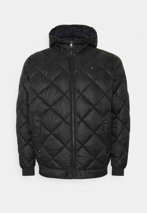 DIAMOND QUILTED JACKET - Winter jacket - black
