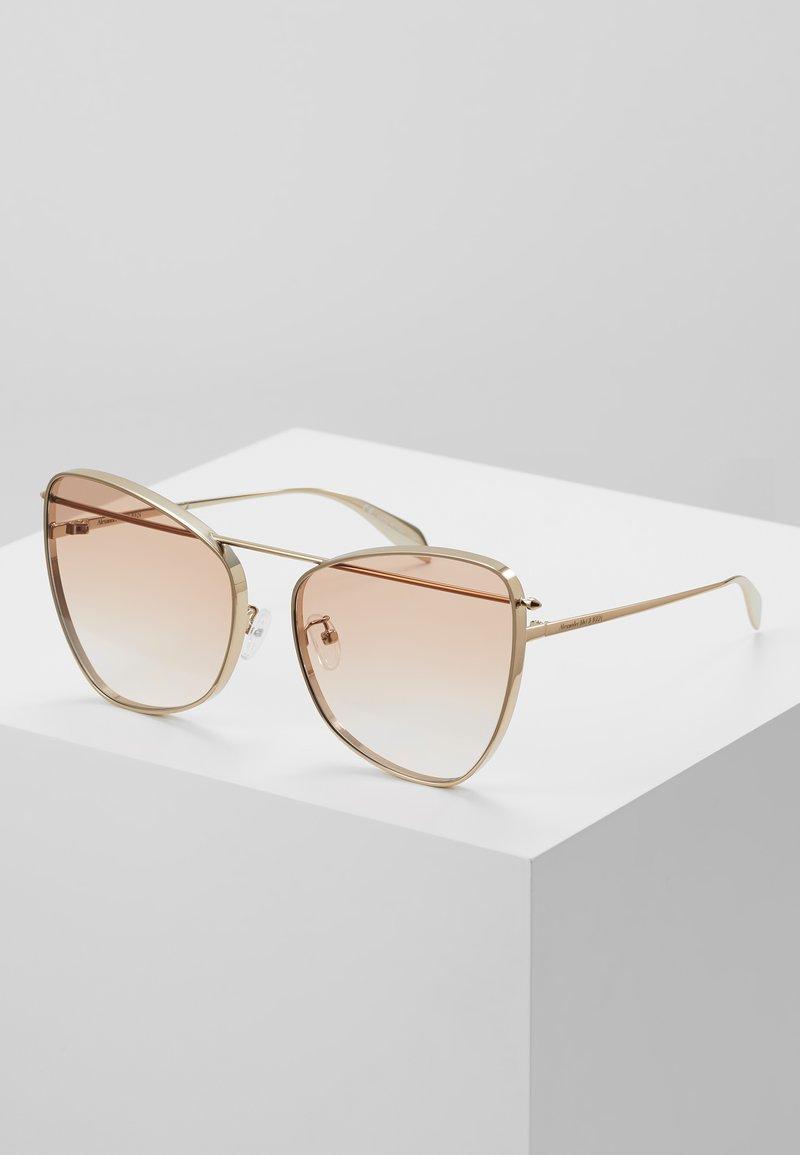 Alexander McQueen - Sunglasses - gold/orange