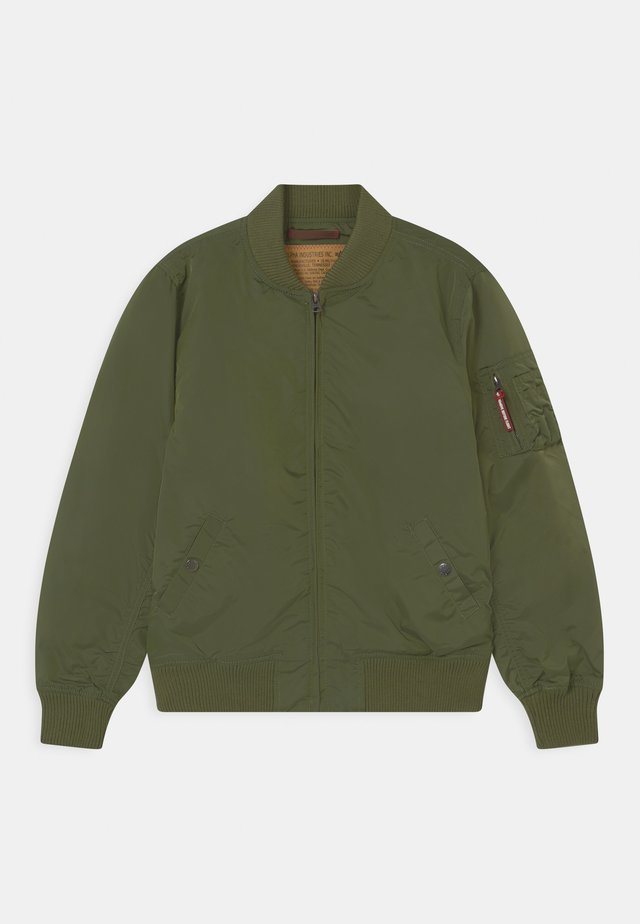 Bomberjacks - sage green