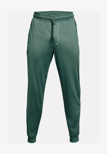 SPORTSTYLE - Tracksuit bottoms - toddy green