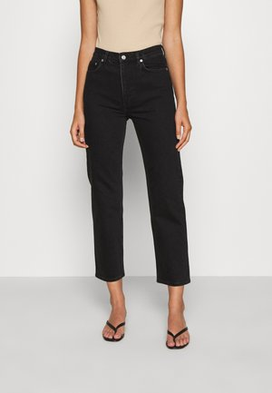 JEANS - Jeans Straight Leg - black dark