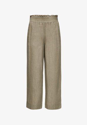 Trousers - summer khaki melange