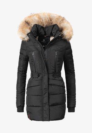 NOVA - Wintermantel - black