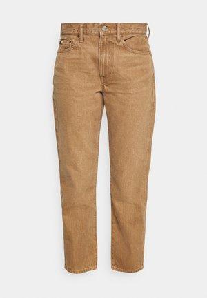 LEORR WASH - Straight leg jeans - light brown