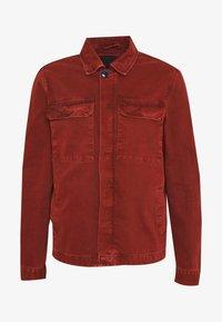 New Look - UTLITY  - Kurtka jeansowa - dark burgundy - 4