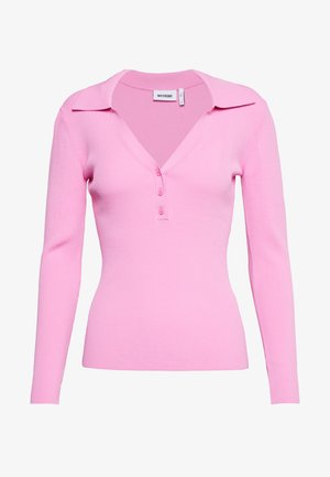 FLAVIA - Long sleeved top - bright pink