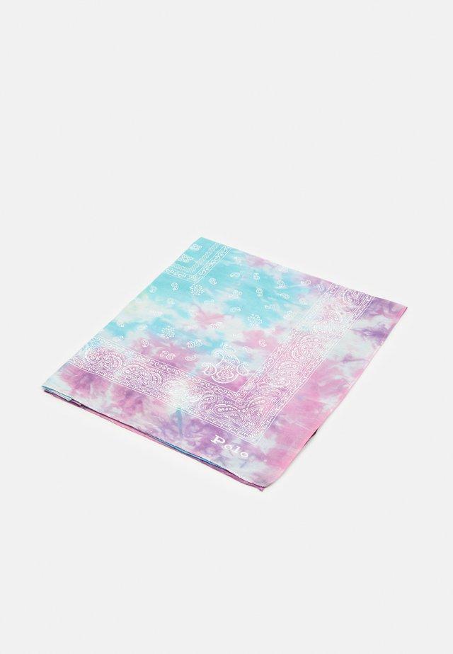 SPACE DYE BANDANA - Šátek - pastel multi