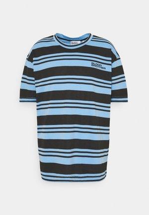 UNISEX RIMON TEE - Print T-shirt - black/blue
