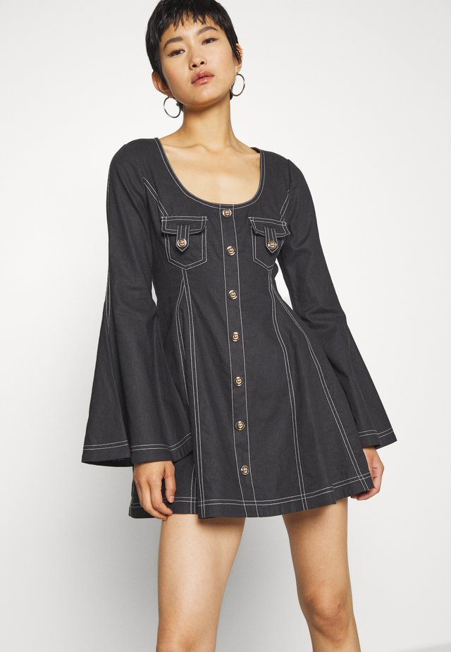 LOST TOGETHER MINI DRESS - Juhlamekko - black
