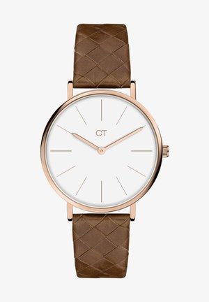 Watch - braun-roségold