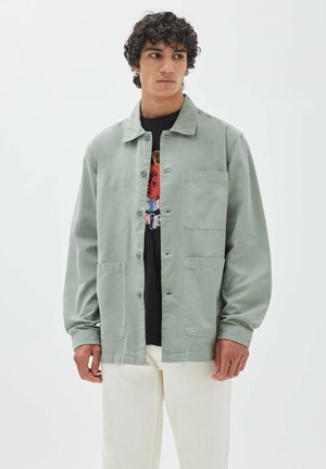 Giacca di jeans - light green