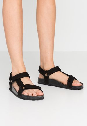 LEO - Sandály - black