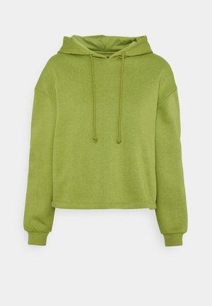 PCCHILLI HOODIE  - Sweatshirt - turtle green