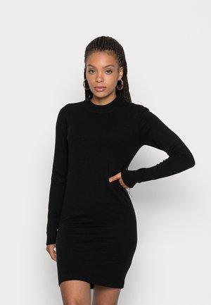 OBJTHESS DRESS  - Sukienka dzianinowa - black