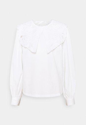 ONLJANE COLLAR   - Blouse - white