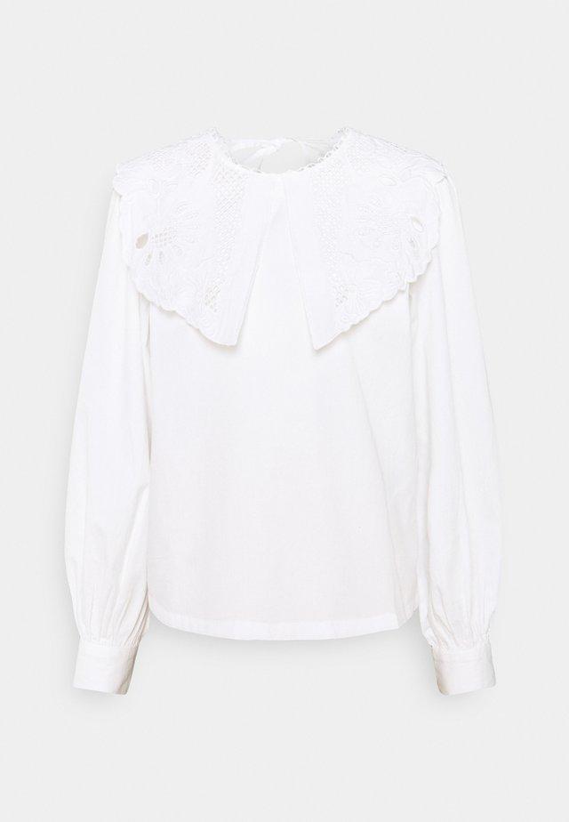 ONLJANE COLLAR   - Camicetta - white
