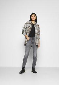 Marc O'Polo DENIM - ALVA REGULAR - Slim fit jeans - multi/pigeon mid grey - 1