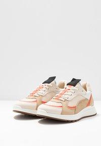 ECCO - ECCO ST.1 W - Trainers - vanilla/coral neon/beige - 4