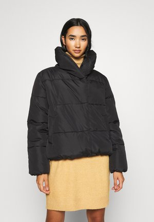 VIOLANA PUFF SHORT JACKET - Winterjas - black