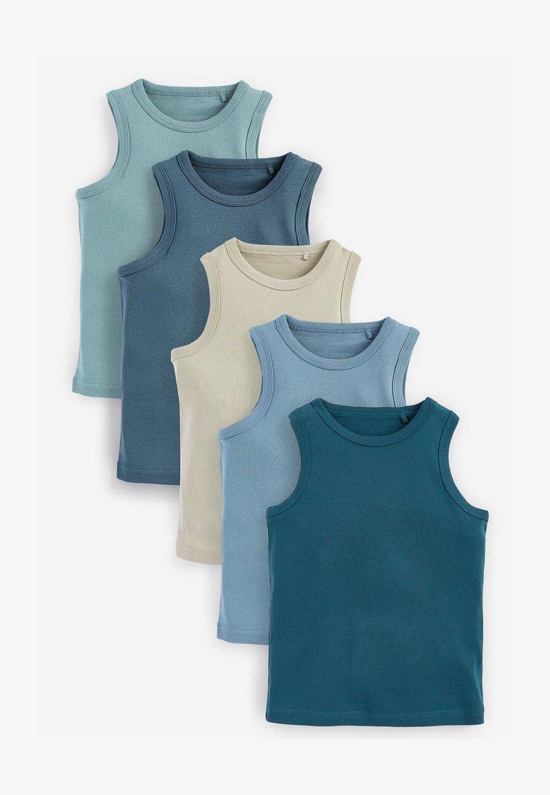 Next - 5 pack - Top - blue