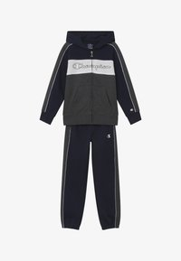 Champion - LEGACY HOODED FULL ZIP SUIT SET - Tracksuit - dark blue - 4