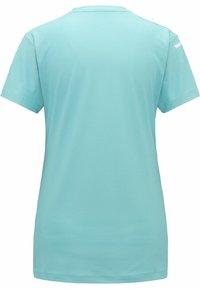 Haglöfs - L.I.M TECH TEE - Print T-shirt - glacier green - 5